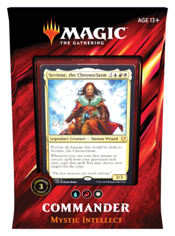 MTG - Commander 2019 - Mystic Intellect (Pre-Order Aug 23, 2019)