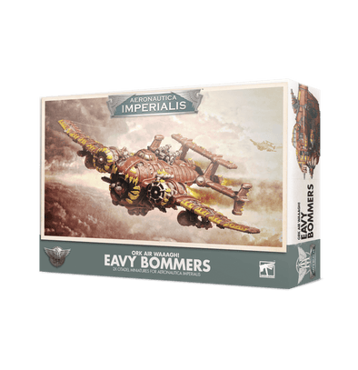 Aeronautica Imperialis - Ork Air Waaagh! - Eavy Bommers available at 401 Games Canada