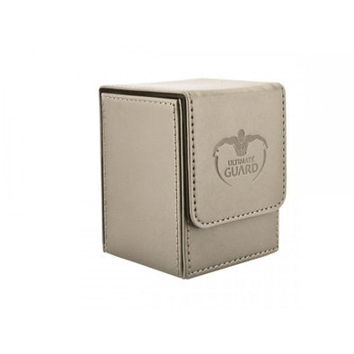 Buy Ultimate Guard - Flip Deck Case Leatherette 100+ - Sand and more Great Sleeves & Supplies Products at 401 Games