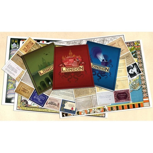 Buy Call of Cthulhu - Cthulhu Britannica: London Box Set and more Great RPG Products at 401 Games