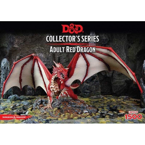 Dungeons and Dragons Miniature Collector's Series - Adult Red Dragon available at 401 Games Canada
