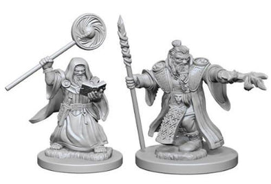 Dungeons and Dragons Nolzur's Marvelous Unpainted Minis: Dwarf Male Wizard - 401 Games