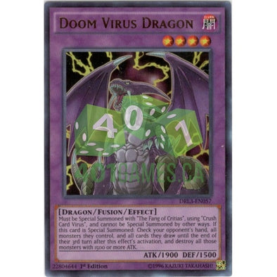 Doom Virus Dragon - (Ultra Rare) available at 401 Games Canada