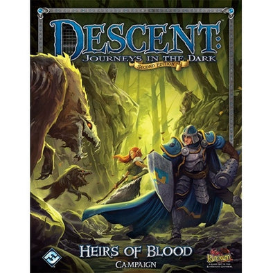 Descent - 2nd Edition - Heirs of Blood Campaign Book - 401 Games