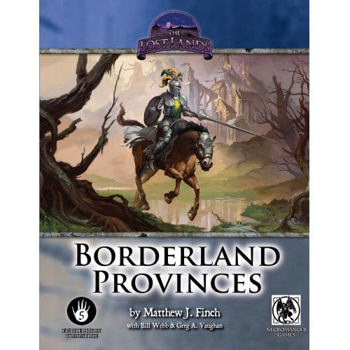Swords & Wizardry - Book - The Lost Lands: Borderland Provinces available at 401 Games Canada