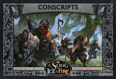 Buy A Song of Ice and Fire - Tabletop Miniatures Game - Night's Watch - Conscripts and more Great Tabletop Wargames Products at 401 Games