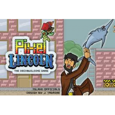 Pixel Lincoln: Bonus Pack & Travel Box (No Restock) - 401 Games