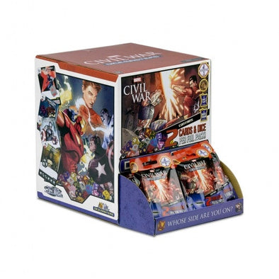 Buy Dice Masters - Marvel Civil War - Gravity Feed Booster Box 90CT and more Great Dice Masters Products at 401 Games