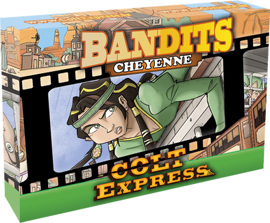 Colt Express - Bandit Pack - Cheyenne Expansion - 401 Games