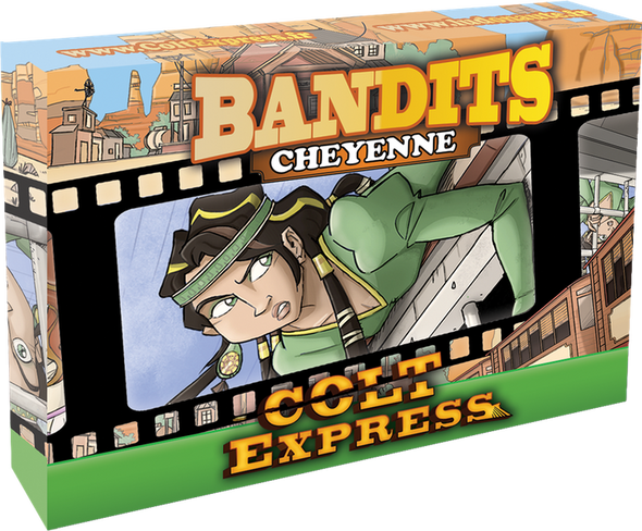 Buy Colt Express - Bandit Pack - Cheyenne Expansion and more Great Board Games Products at 401 Games