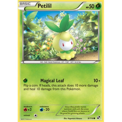 Buy Petilil - 9/114 and more Great Pokemon Products at 401 Games