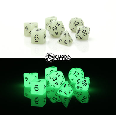 Die Hard - 7 Piece - Glow-In-the-Dark White