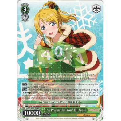 """A Present for You"" Eli Ayase - 401 Games"