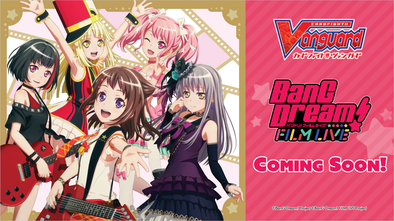 Cardfight!! Vanguard - V Title Booster 01: BanG Dream! FILM LIVE (Pre-Order March 5, 2021) available at 401 Games Canada