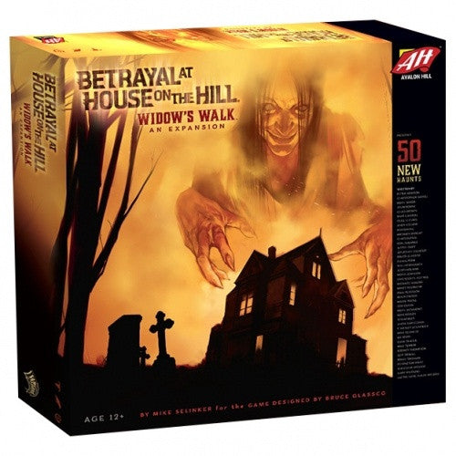 Buy Betrayal at House on the Hill - Widow's Walk Expansion and more Great Board Games Products at 401 Games