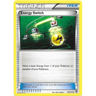 Buy Energy Switch - 89/111 and more Great Pokemon Products at 401 Games