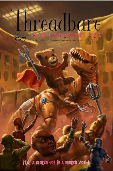 Apocalypse - Threadbare : Stitchpunk RPG - Core Rulebook (Softcover)