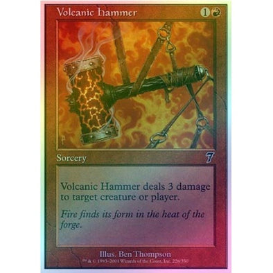 Volcanic Hammer (Foil) available at 401 Games Canada