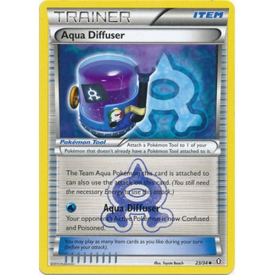 Buy Aqua Diffuser - 23/34 and more Great Pokemon Products at 401 Games