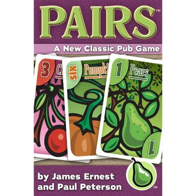 Buy Pairs - A New Classic Pub Game and more Great Board Games Products at 401 Games