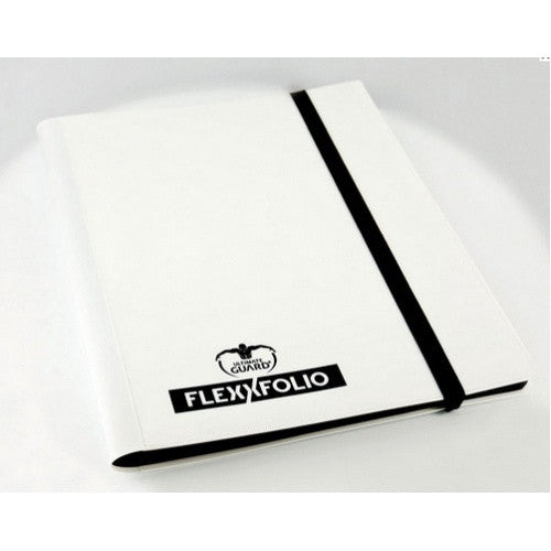 Ultimate Guard - 4 Pocket Flexxfolio - White - 401 Games