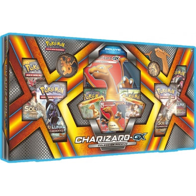 Buy Pokemon - Charizard-GX Premium Collection Box and more Great Pokemon Products at 401 Games