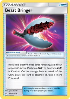 Buy Beast Bringer - 164/214 and more Great Pokemon Products at 401 Games