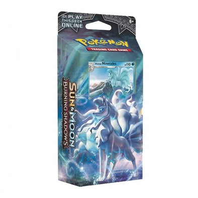 Buy Pokemon - Burning Shadows Alolan Ninetales Theme Deck - Luminous Frost and more Great Pokemon Products at 401 Games