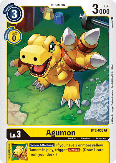 Agumon (BT2-033) available at 401 Games Canada