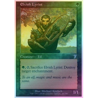 Elvish Lyrist (Foil) - 401 Games