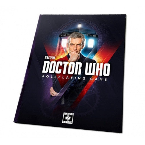 Doctor Who Roleplaying Game - Core Rulebook available at 401 Games Canada