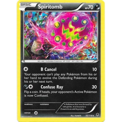 Spiritomb - 55/119 - Reverse Foil (PHF055R) available at 401 Games Canada