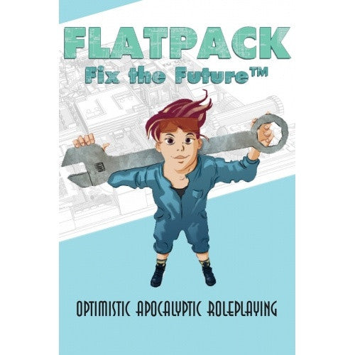 Flatpack: Fix the Future - Core Rulebook available at 401 Games Canada