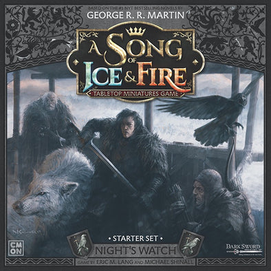 A Song of Ice and Fire - Tabletop Miniatures Game - Night's Watch - Night's Watch Starter Set available at 401 Games Canada