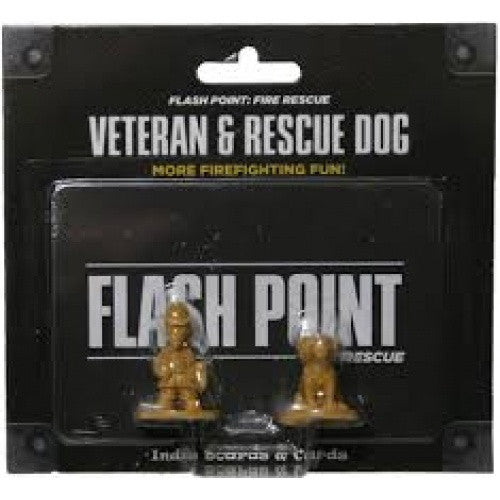 Flash Point - Fire Rescue - Veteran and Rescue Dog available at 401 Games Canada