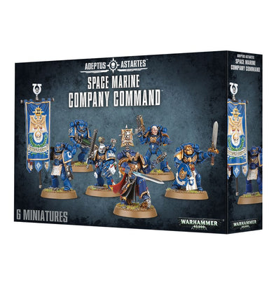 Warhammer 40,000 - Space Marines - Space Marine Command Company available at 401 Games Canada