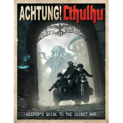 Buy Call of Cthulhu - Achtung! Cthulhu Keeper's Guide to the Secret War and more Great RPG Products at 401 Games