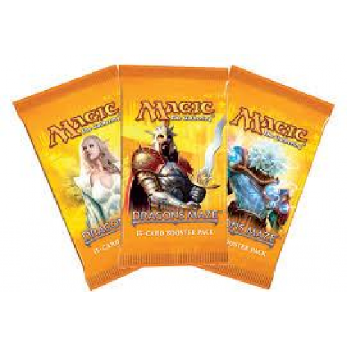 MTG - Dragon's Maze English Booster Pack - 401 Games