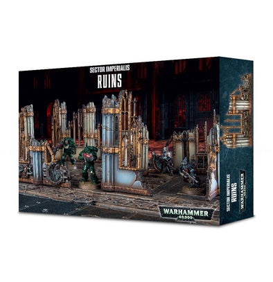 Buy Warhammer 40,000 - Sector Imperialis - Ruins and more Great Games Workshop Products at 401 Games