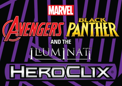 Heroclix - Marvel Avengers Black Panther and the Illuminati Booster Brick - 401 Games