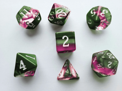 Little Dragon - Birthstone Dice - Tourmaline (October)