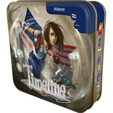 Buy Timeline - American History and more Great Board Games Products at 401 Games