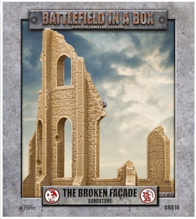 Battlefield in a Box - Sandstone - The Broken Façade available at 401 Games Canada