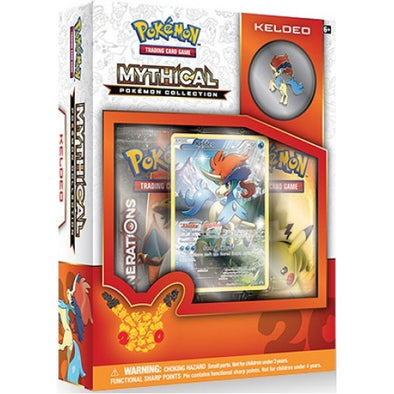 Buy Pokemon - Mythical Collection Keldeo (Generations) and more Great Pokemon Products at 401 Games
