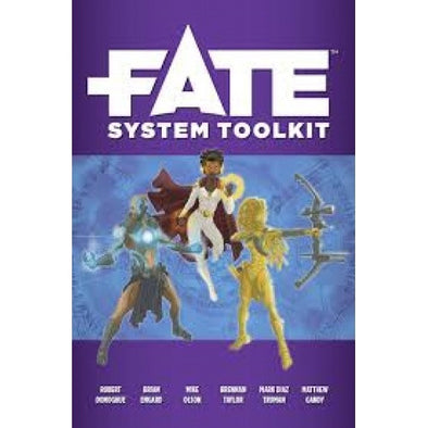 Buy Fate - System Toolkit and more Great RPG Products at 401 Games