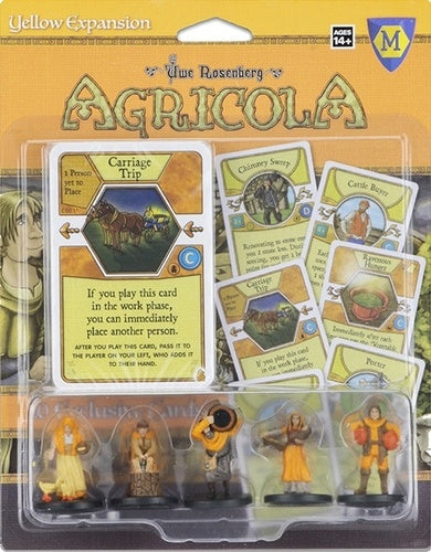 Agricola - Game Expansion - Yellow - 401 Games