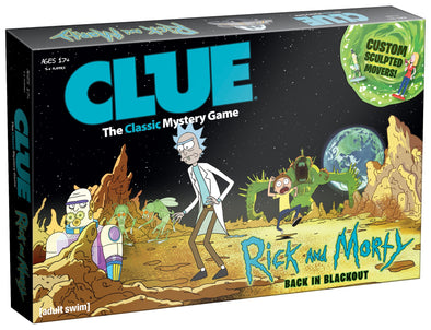 Clue - Rick and Morty - 401 Games