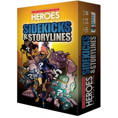 Heroes of Metro City - Sidekicks & Storylines (No Restock) - 401 Games