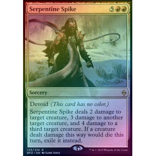Serpentine Spike (Foil) (BFZ) available at 401 Games Canada