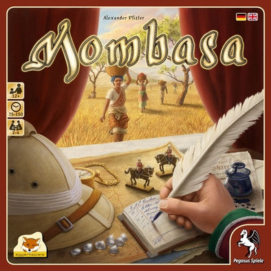 Buy Mombasa and more Great Board Games Products at 401 Games